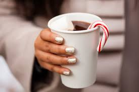 24 holiday nail art designs to try this week brit co