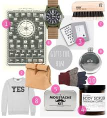 my christmas gift guide 2014 for him cate st hill