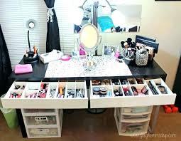 Makeup Organizer Desk Vanity Makeup Storage Makeup Organizer Desks Makeup Organizer Desk