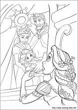 tangled coloring pages coloring book rapunzel party