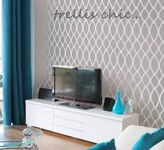Trellis Wall Stencil Cutting Edge Stencils Giveaway Simplified Bee