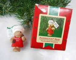 paddington ornament etsy
