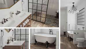 Modern Farmhouse Bathroom Bathroom Trend Modern Farmhouse