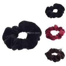 hair holder multicolor velvet fabric scrunchies hairband hair tie scrunchie