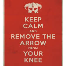 Keep Calm Meme Template - skyrim scene then i took an arrow in the knee scientific diagram