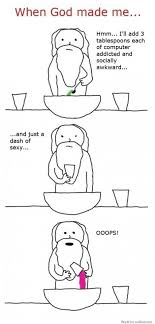 Comic Little Girl Stick Figure Meme Pinterest - when god made me just a dash of sexy oops when god made me comic