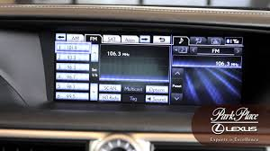 hennessy lexus lexus radio how to choosing preset stations youtube