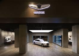 lexus sales in korea hyundai u0027s genesis luxury brand opens first studio showroom in
