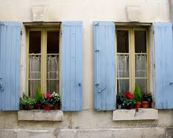 Shabby Chic Shutters by St Remy De Provence France Rustic French Window Shutters