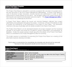 project report templates u2013 14 free word pdf documents download
