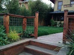 Patio Fence Ideas Patio Ideas Lattice Patio Cover Ideas Awesome Great Front Yard