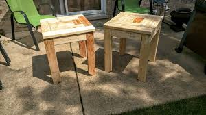 Wood Plans For End Tables by More Like Home Day 22 Build A Craftsman Style End Table
