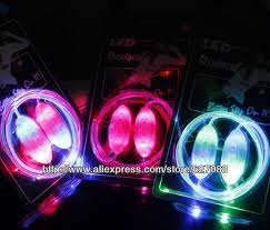 led shoelaces shoelaces glow kids children party gift neon colors