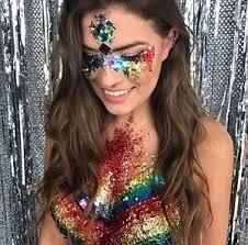 sparkly hair 10 glitter pots pride lgbt festival sparkly rainbow hair