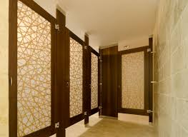 Steel Toilet Partitions Ironwood Manufacturing Wood Veneer Toilet Partitions With Door