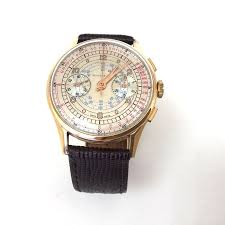 tiffany and co ls tiffany co gold chronograph men s watch 1950 catawiki