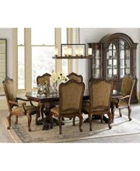 9 piece dining room set lakewood 9 piece dining room furniture set double pedestal