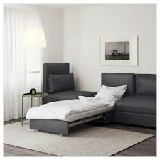 Bedroom Furniture Calgary Kijiji Vallentuna Sleeper Sectional 3 Seat Hillared Dark Gray Ikea