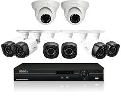 amazon com q see surveillance system qc908 8u7 2 8 channel hd
