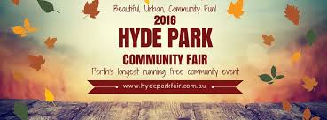 hyde park community fair 2016 perth