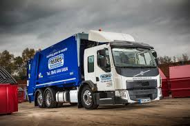 volvo truck fl uk u0027s first euro 6 rhd volvo fe lec goes to neales waste management