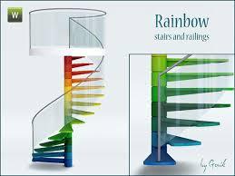 gosik u0027s vitage metal spiral stairs and railings sims3 build