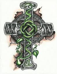 love this celtic cross tattoo i u0027d want it on my side though
