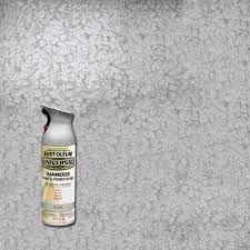 rust oleum universal 12 oz all surface hammered silver spray