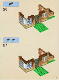 lego the burrow instructions 4840 harry potter