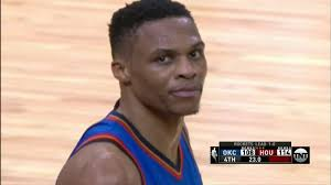 Westbrook Meme - russell westbrook broke the fourth wall and became the first meme