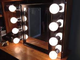 Makeup Mirror Lighted Furniture The Most Embellish Diy Lighted Vanity Mirror Nu