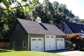 affordable three car garage with attic space see prices