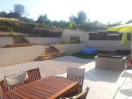 jardin interieur design villa 170m2 neuve intérieur design jardin en restanque 1800m2