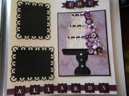 wedding scrapbook pages kathies kreations wedding scrapbook pages i made for a friend