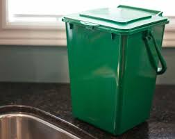 portable kitchen compost bin 2 25 gallons kc 2000 recycle away