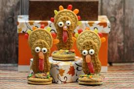 cute but nutty thanksgiving turkey cookies recipe jenns blah