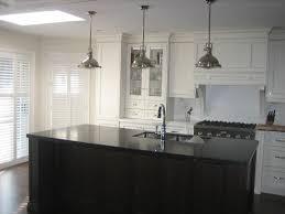 impressive pendant lights over kitchen island in interior remodel