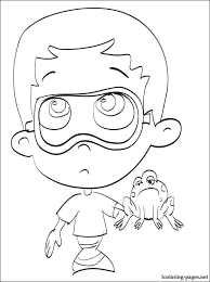 coloring pages bubble guppies coloring pages