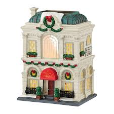 department 56 peanuts halloween christmas in the city the grand hotel department 56 corner