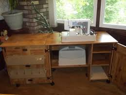 Computer Desk In Walmart Sauder Sewing And Craft Table Multiple Finishes Walmart Com