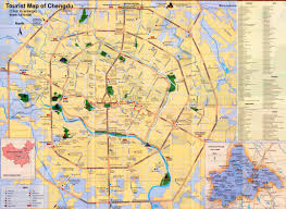 Tripadvisor Map China Chengdu Map Tourist Attractions Hotels Roads