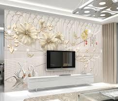 Cheap Wall Mural Online Get Cheap Beautiful Flowers Wallpapers Aliexpress Com