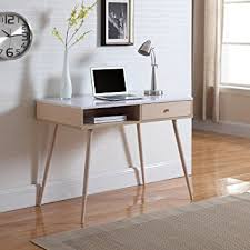Mid Century Office Furniture by Amazon Com Mid Century Modern Small Work Computer Desk White