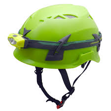caving helmet with light ppe caving safety helmet with waterproof led light head l