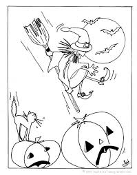 witch coloring pages witch broomstick coloring