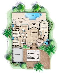 covered lanai unique 1 story california coastal house plan terra bella house plan