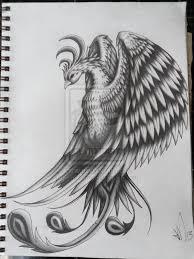 pheonix tattoo design by scribilitary on deviantart bodyart