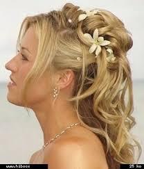 coiffure femme pour mariage femme cheveux mi pour mariage