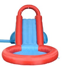 amazon com waliki toys lazy pool tall inflatable water slide