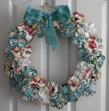 diy easter wreath spring decorating ideas door wall make a